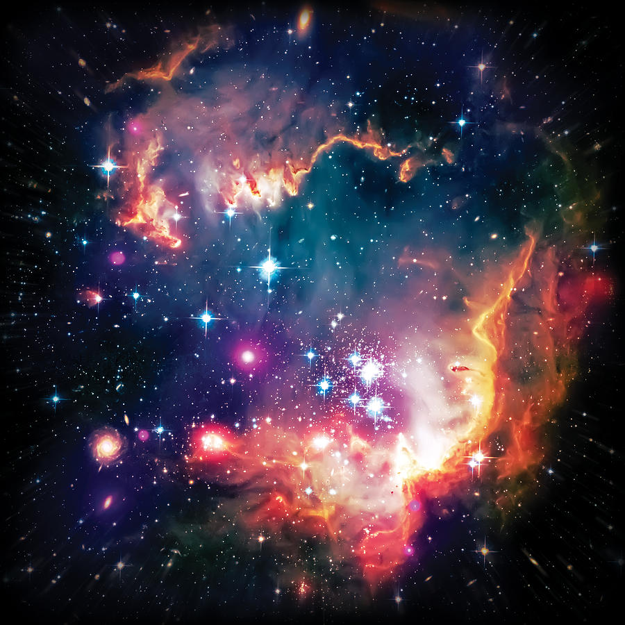 Universe Photograph - Magellanic Cloud 1 by Jennifer Rondinelli Reilly - Fine Art Photography