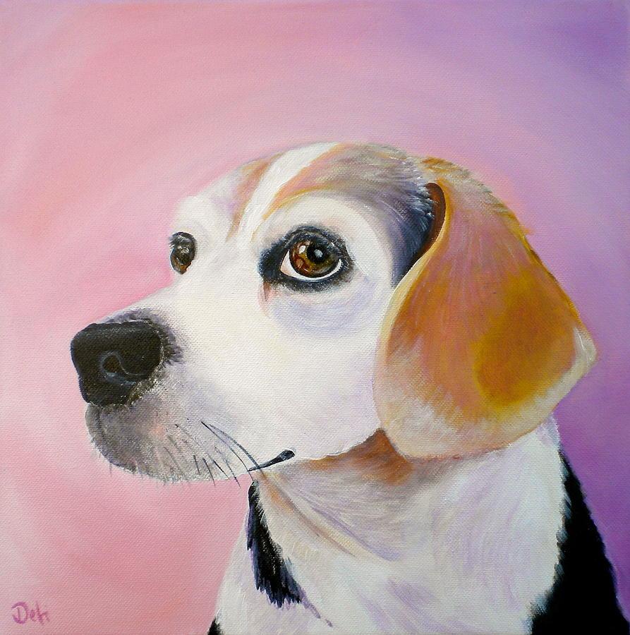 Maggie Painting - Maggie by Debi Starr