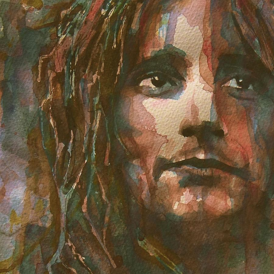 Rod Stewart Painting - Maggie May  by Paul Lovering