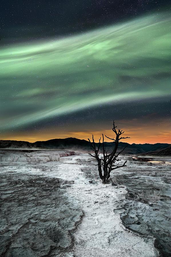 Northern Lights Photograph - Magic Aurora by Liloni Luca