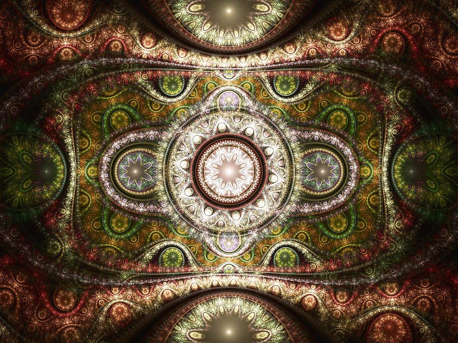 Interior Digital Art - Magic Carpet by Anastasiya Malakhova