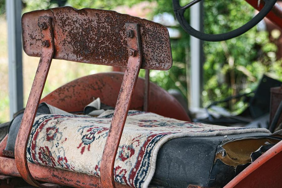 Persian Carpet Photograph - Magic Carpet Ride Southern Style by Kathy Clark