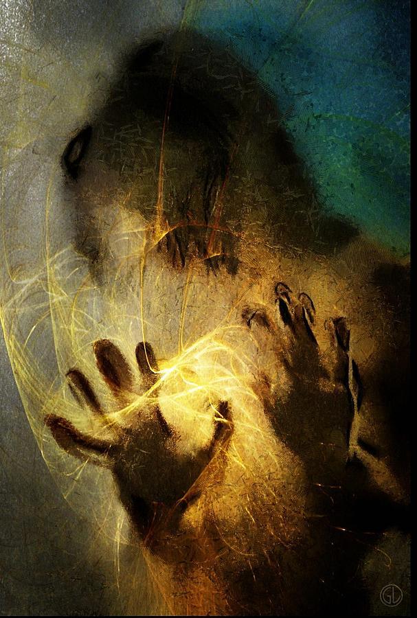 Woman Digital Art - Magic Hands by Gun Legler