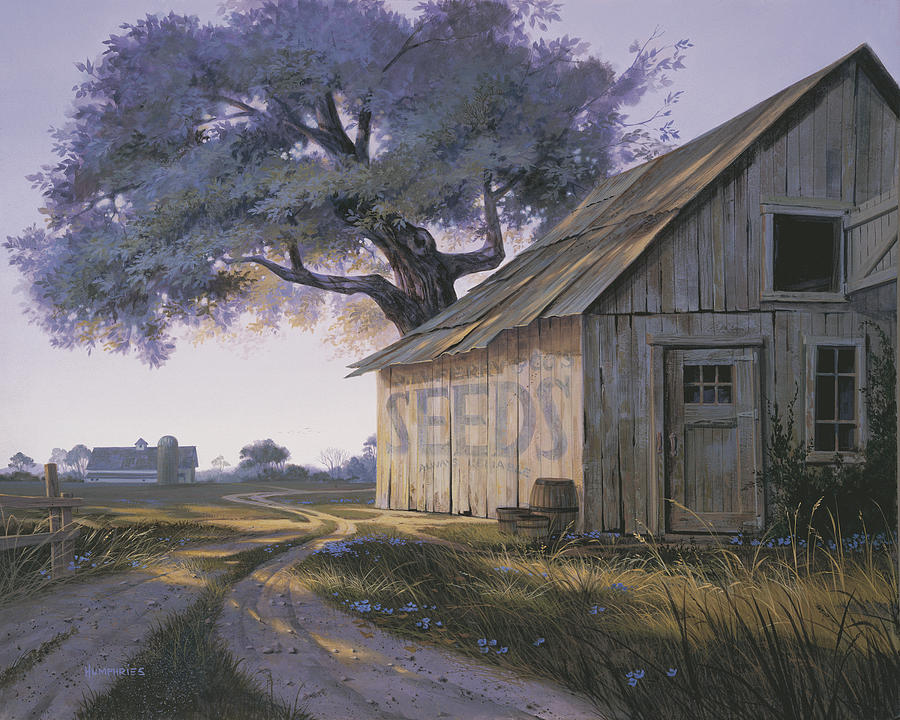 Magic Hour Painting By Michael Humphries
