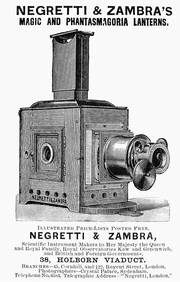 1891 Photograph - Magic Lantern, 1891 by Granger
