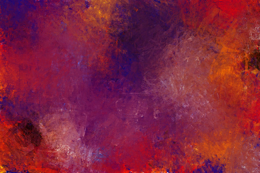 Abstract Expressionism Digital Art - Magic Moment by Jeff Montgomery