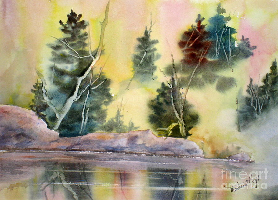 Autumn Painting - Magic Moments by Mohamed Hirji
