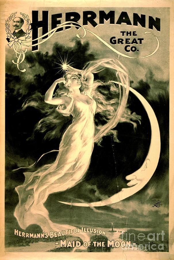 Magic Show Playbill 1898 Photograph - Magic Show Playbill 1898 by Padre Art