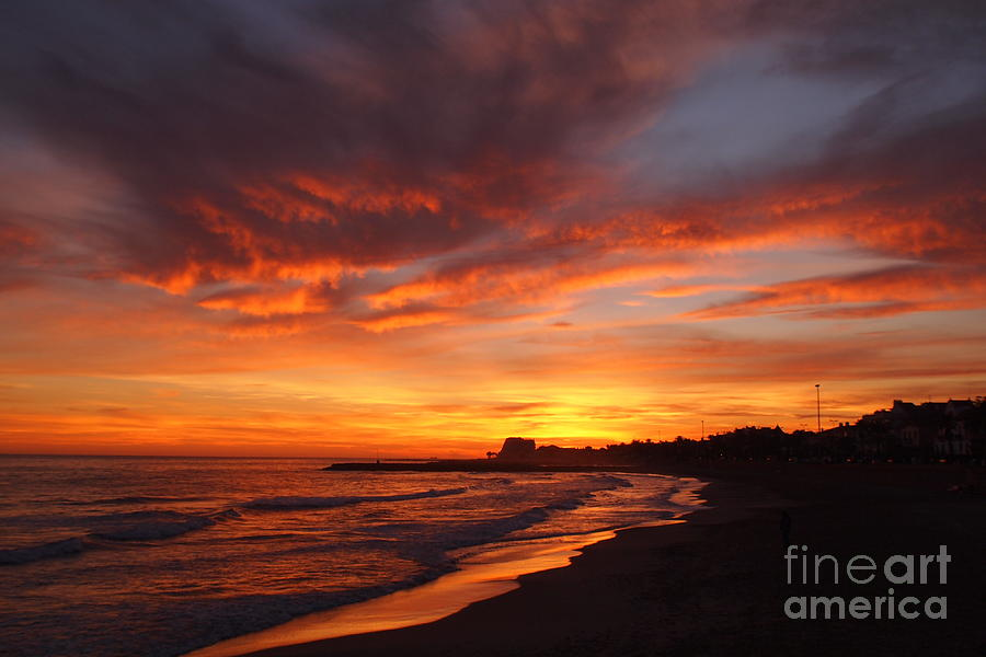 Sunset Photograph - Magic Sunset by Victoria Herrera