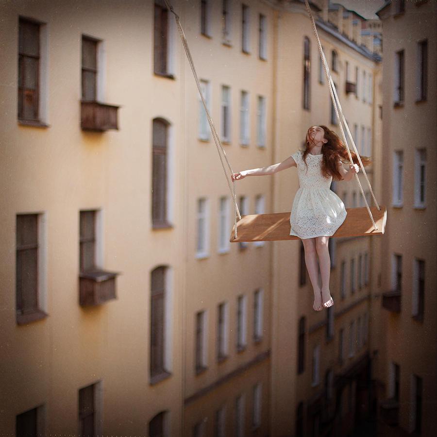 Tale Photograph - Magic swings by Anka Zhuravleva