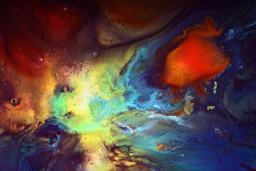 Magic Variety - Contemporary Liquid Abstract Art by kredart by Serg Wiaderny