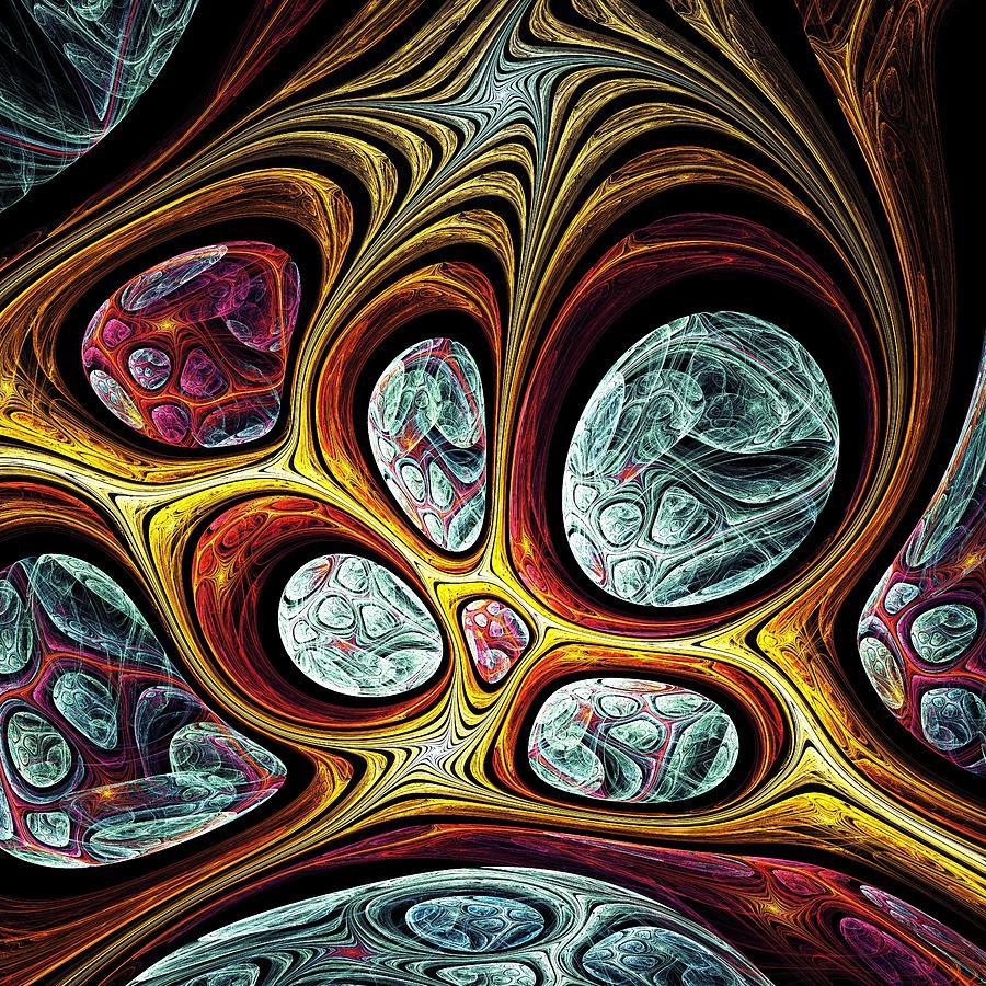Computer Digital Art - Magic Windows by Anastasiya Malakhova