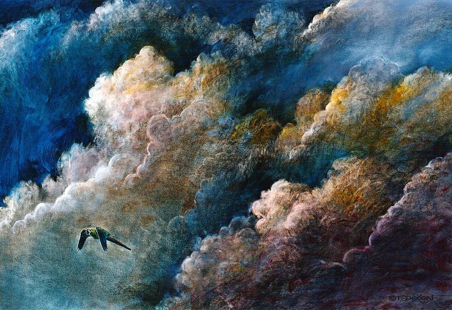 Landscape Painting - Magical Journey by Frank Robert Dixon