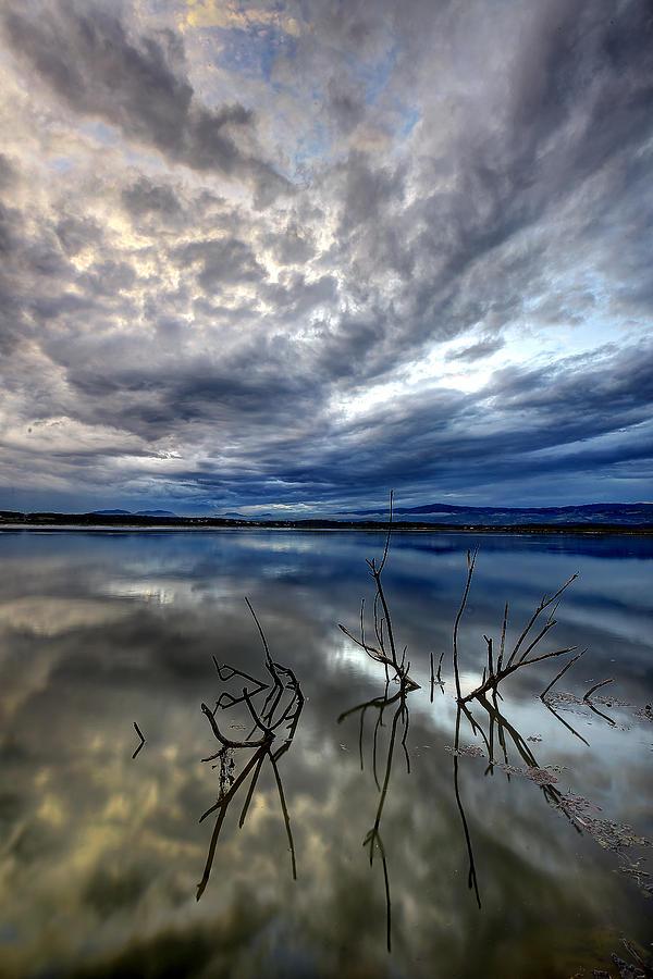 Magical lake - vertical by Ivan Slosar