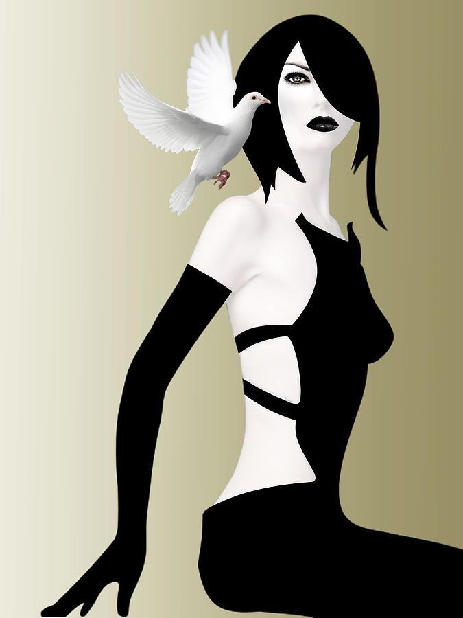 Woman Digital Art - Magical by Mark Ashkenazi
