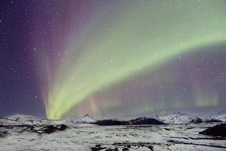 Aurora Photograph - Magical Night by Evelina Kremsdorf