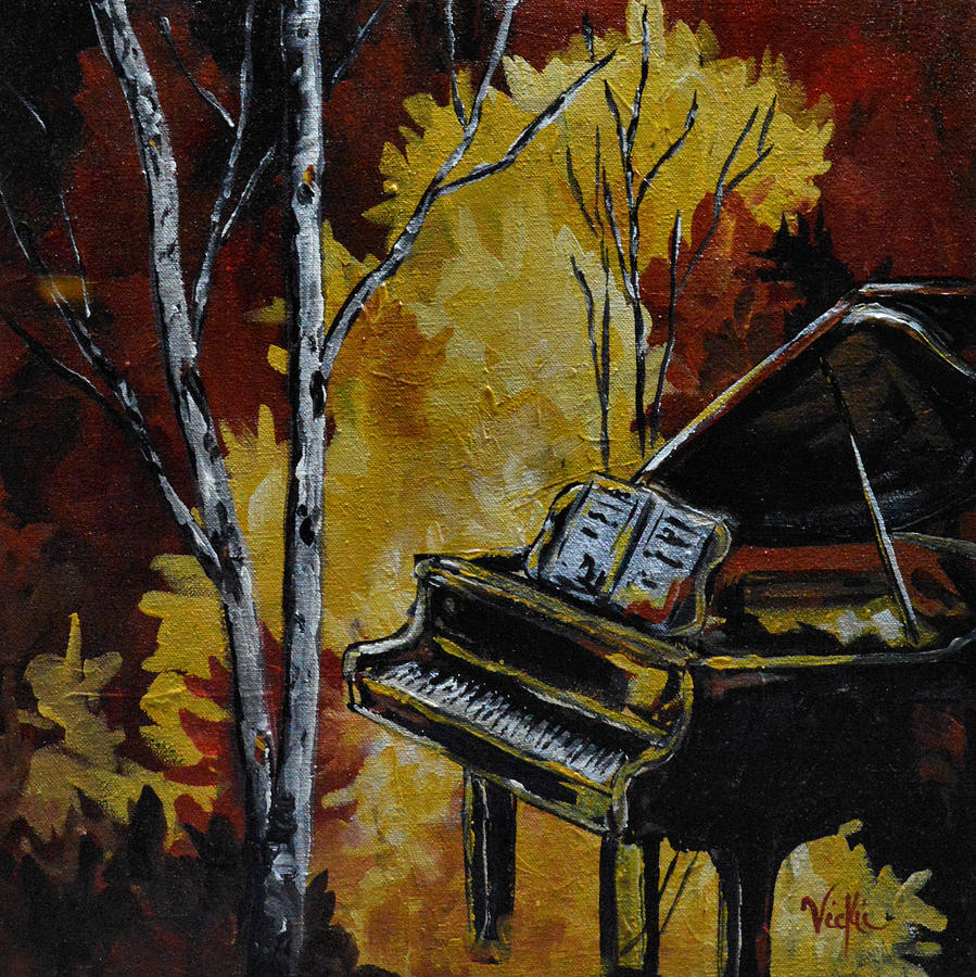 Music Painting - Magical by Vickie Warner