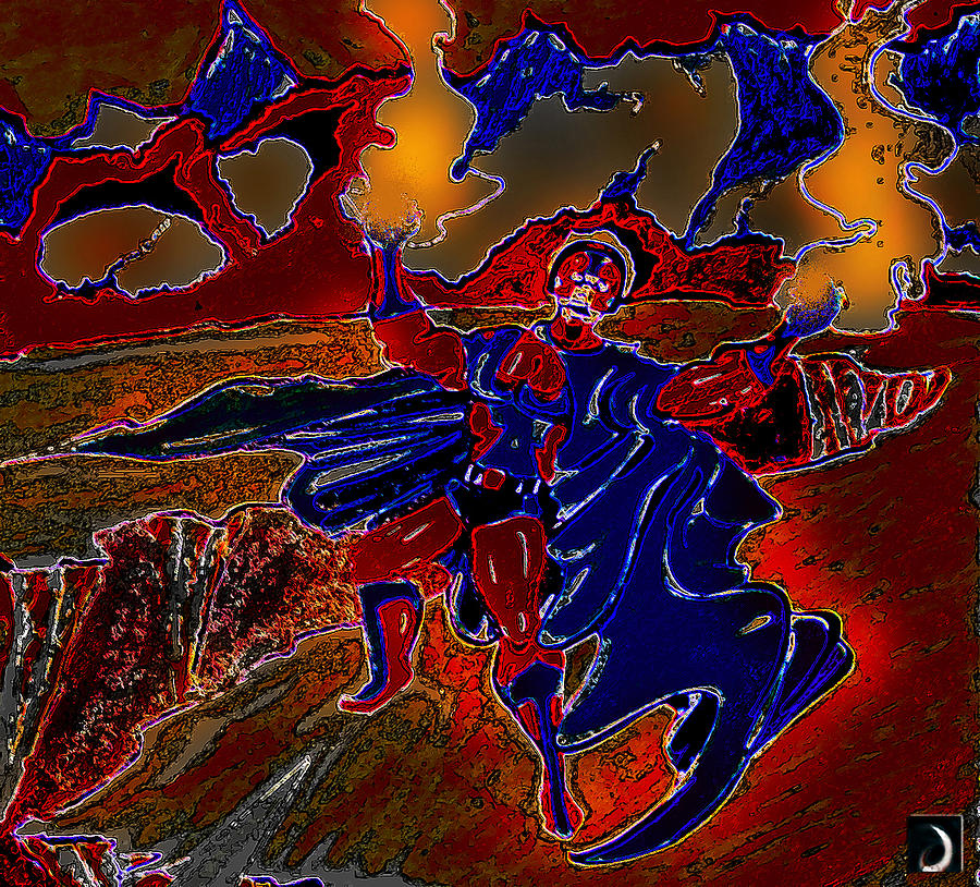 Marvel Digital Art - Magneto  by Jazzboy