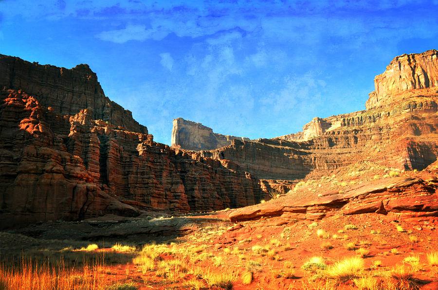 Utah Photograph - Magnificent Butte by Marty Koch
