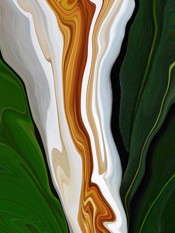 Magnolia Digital Art - Magnolia Study No 4 by Chad Miller