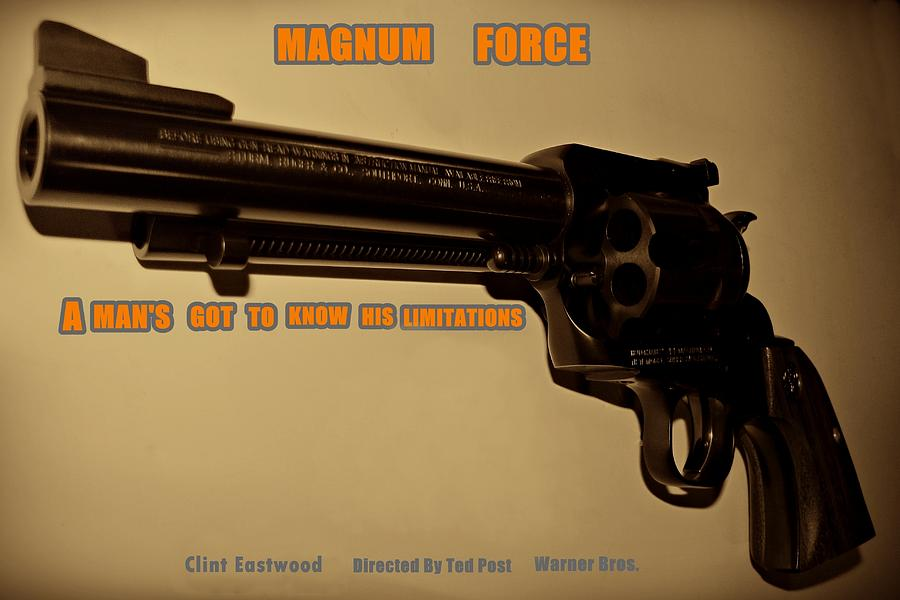 Magnum Force Photograph - Magnum Force Custom by Movie Poster Prints