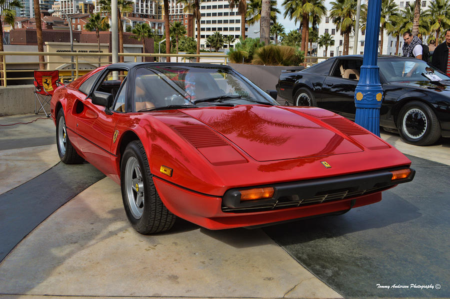 Ferrari 308 Gtb Photograph - Magnum Pi by Tommy Anderson