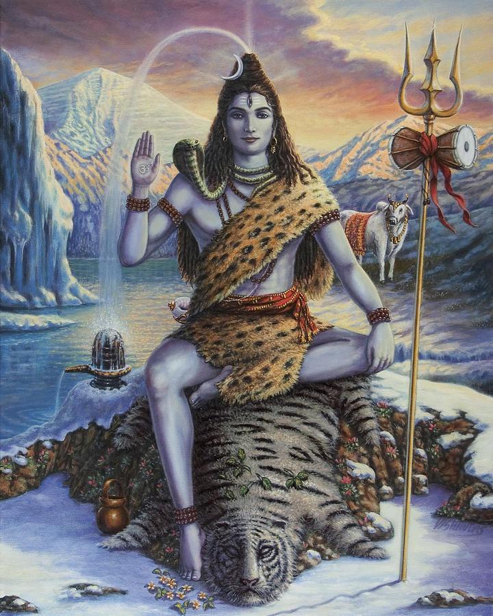 Mahadeva Shiva by Vishnudas Art