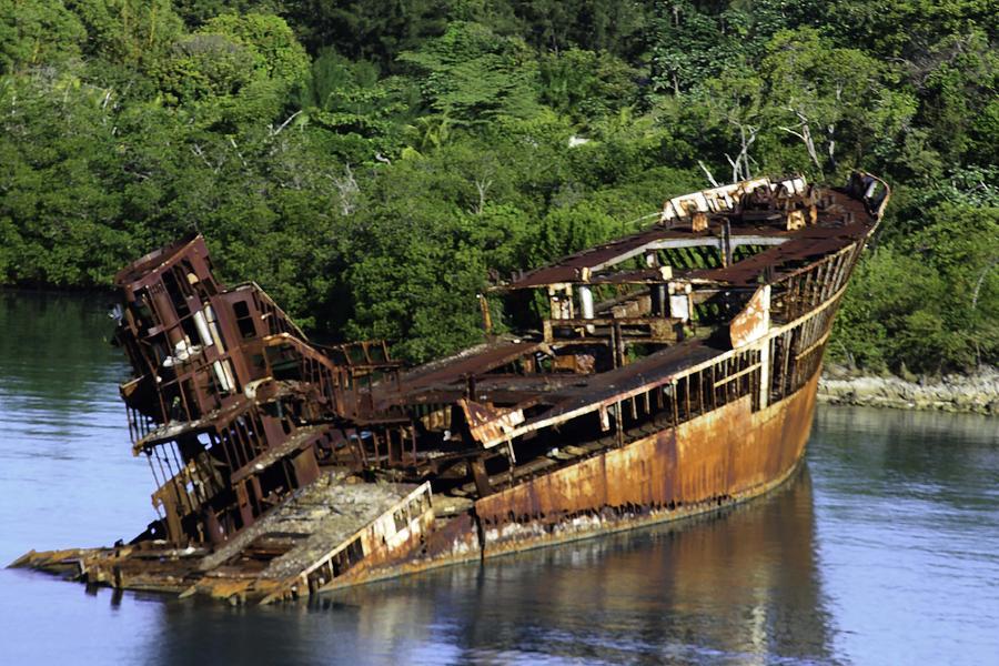 Mahogany Bay Shipwreck Photograph By Shirlee Mikel Vos