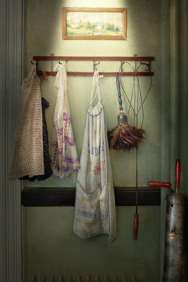 House Keeper Photograph - Maid - Always So Much Housework by Mike Savad