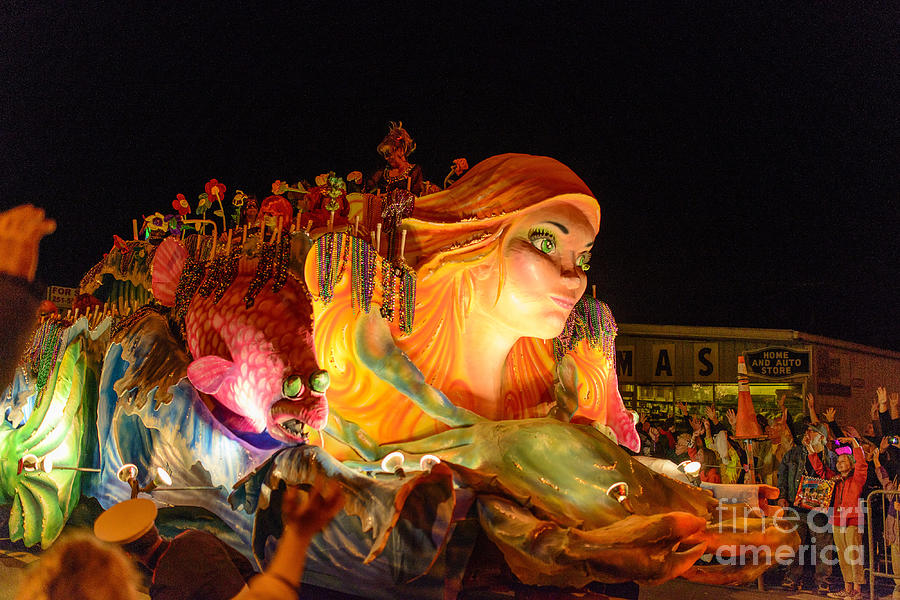 Mardi Gras Photograph - Maid Of Jubilee by Russell Christie