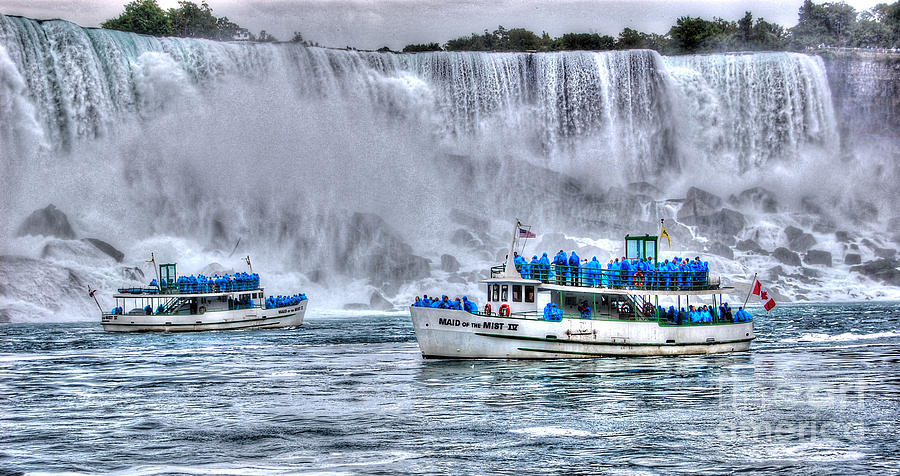 Maid Of The Mist Photograph By Bianca Nadeau