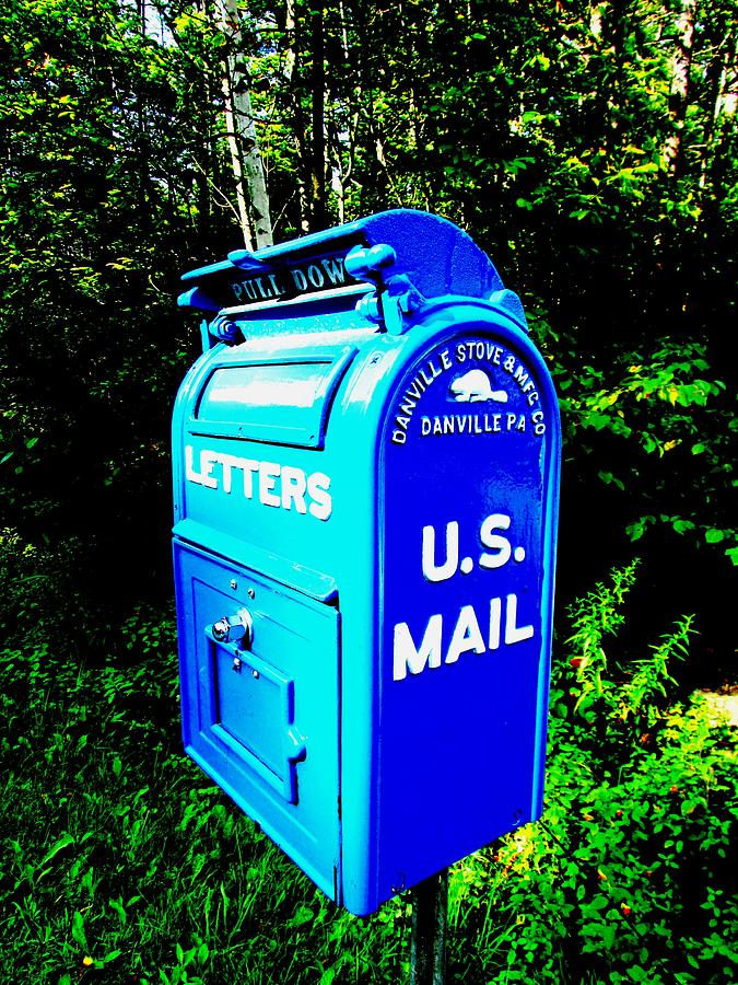mail Box Photograph - Mail Box by Will Boutin Photos