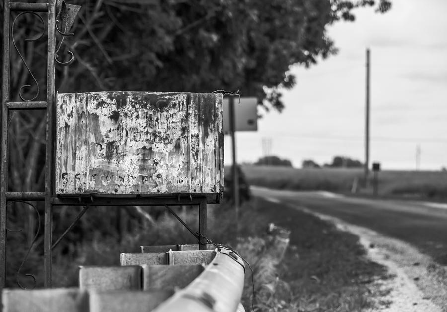 Country Photograph - Mailbox 1 by Gunnar Campbell