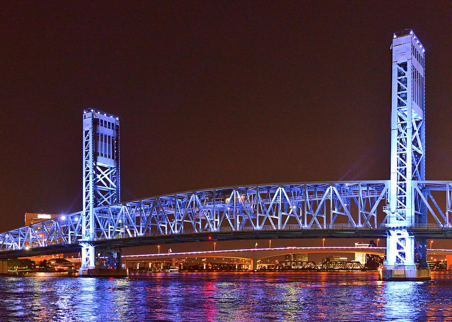 Main Photograph - Main Street Bridge Jacksonville by Christine Till