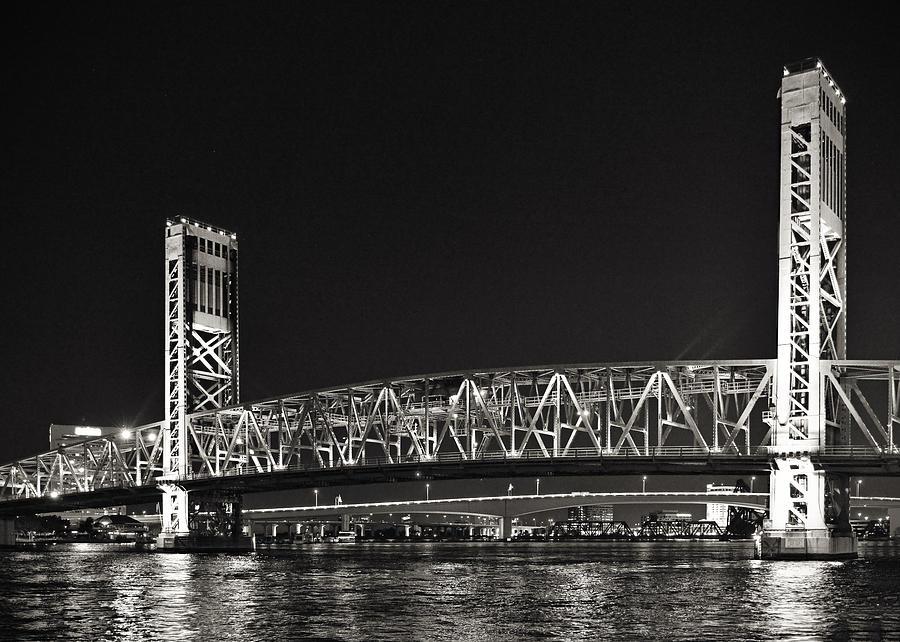 Main Photograph - Main Street Bridge Jacksonville Florida by Christine Till