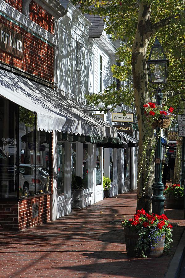 Edgartown Photograph - Main Street In Edgartown by Juergen Roth
