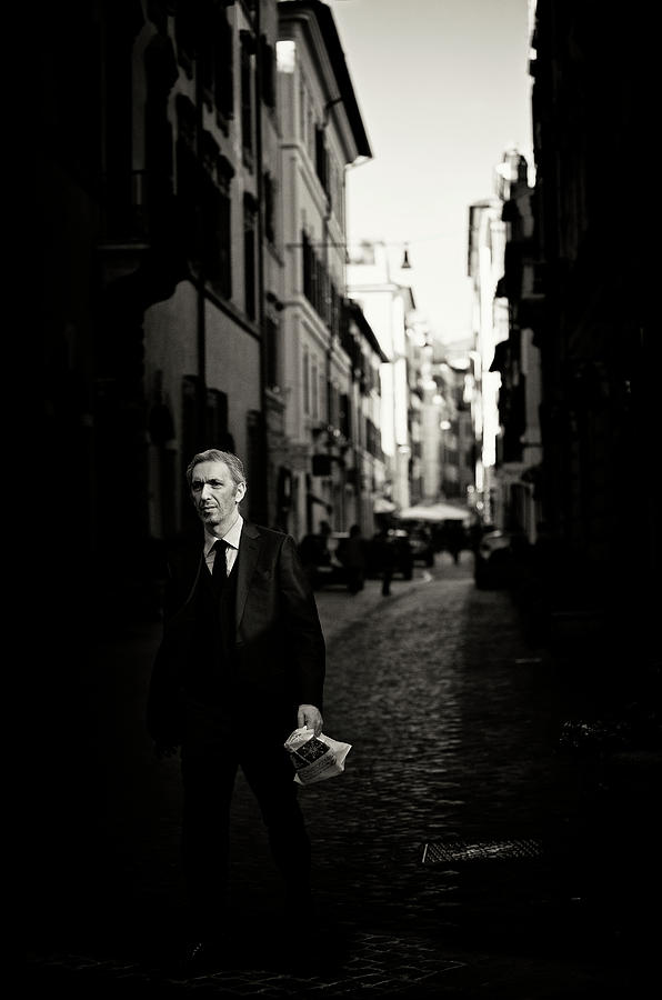 Dark Photograph - Main Street by Julien Oncete