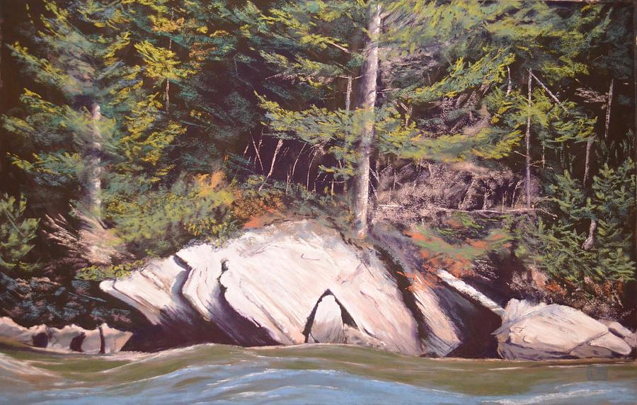 Landscape Painting - Maine Coast by Lori Bate