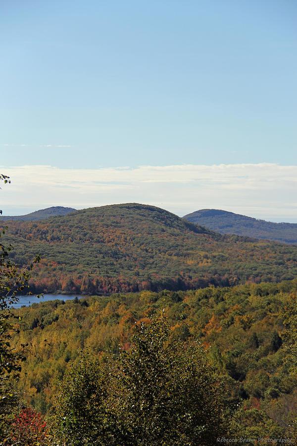 Mountains Photograph - Maine Fall by Becca Brann