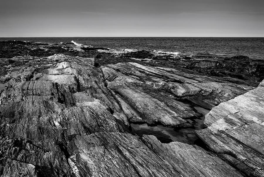 Maine Rocky Coast No29 Photograph