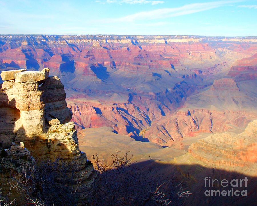 Tags Photograph - Majestic Grand Canyon by Janice Sakry
