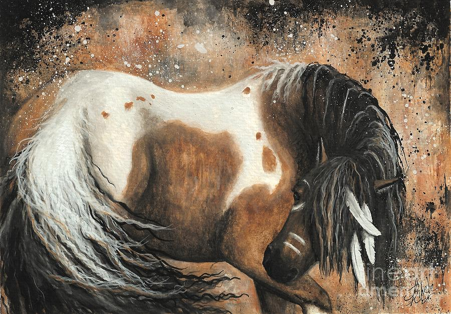 Horse Painting - Majestic Horse Series 74 by AmyLyn Bihrle