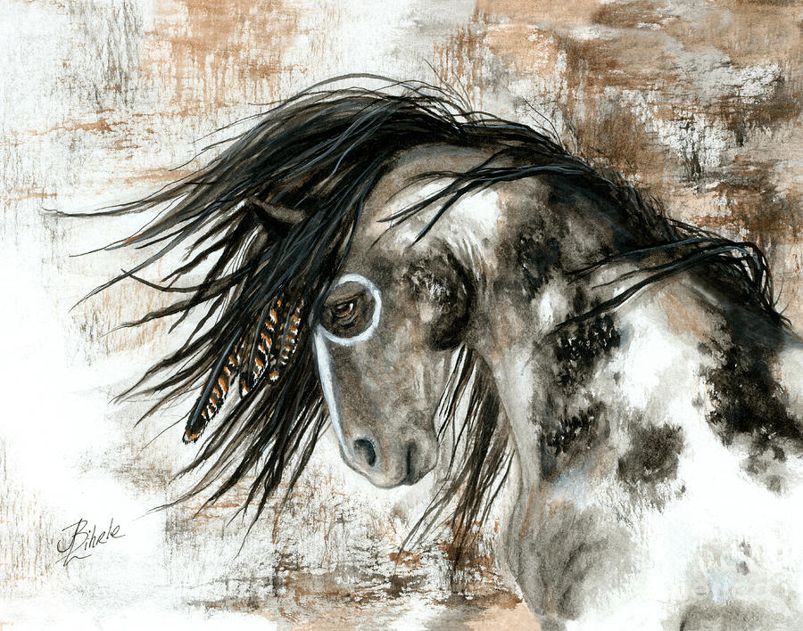 Horse Painting - Majestic Horse Series 88 by AmyLyn Bihrle