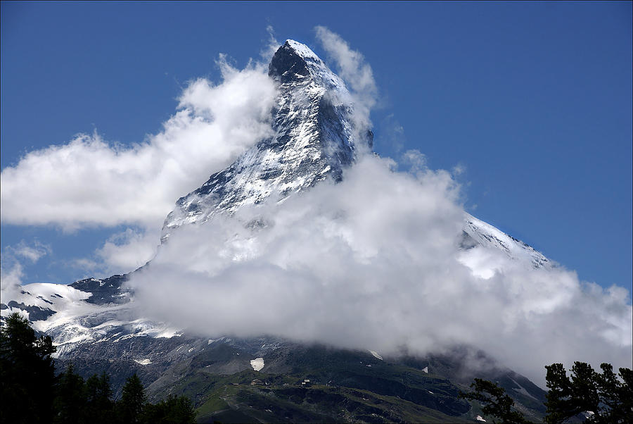 Matterhorn Photograph - Majestic Mountain  by Annie Snel