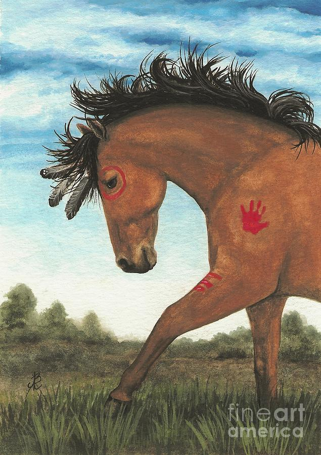 Majestic Mustang Series Painting - Majestic Mustang 36 by AmyLyn Bihrle