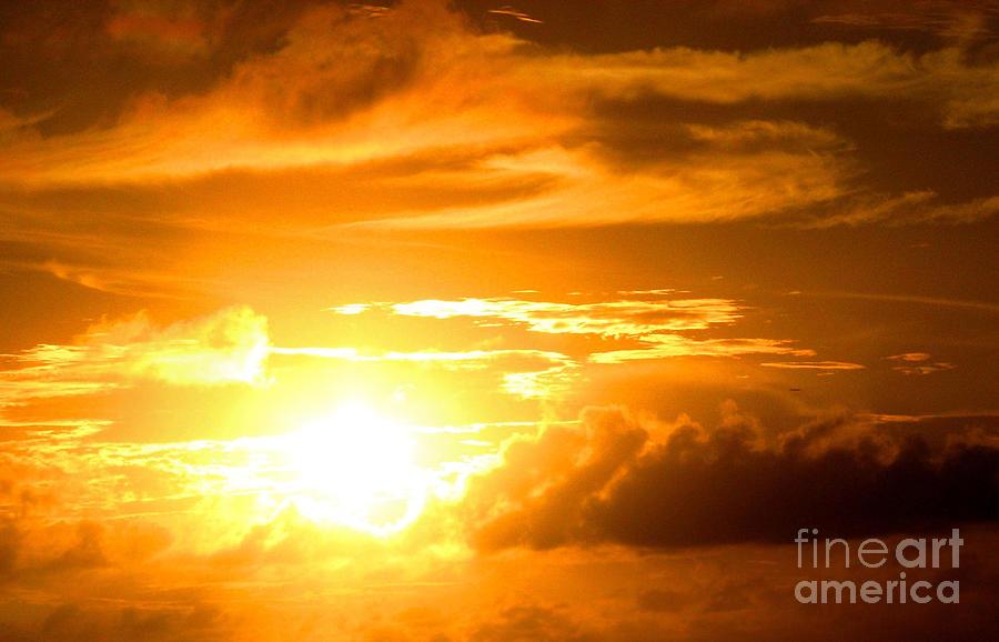 Sunset Photograph - Majestic Sunset by Kristine Merc
