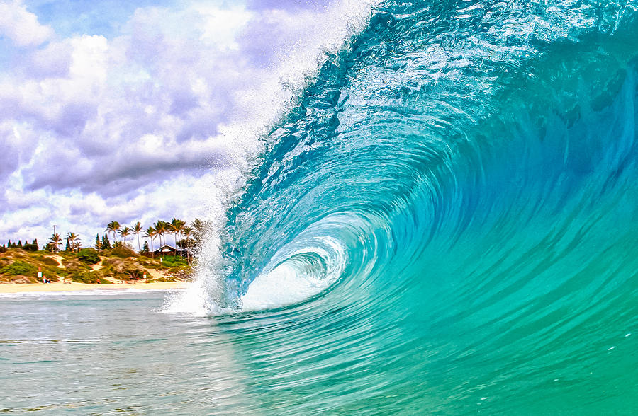 Surf Photograph - Makapuu by Gregg  Daniels