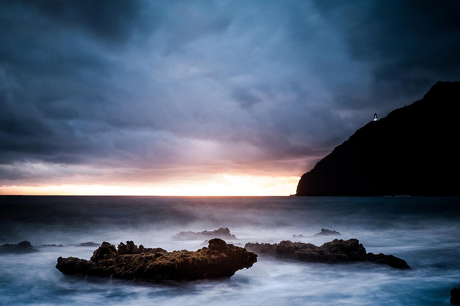Landscapes Photograph - Makapuu Lighthouse by Jason Bartimus