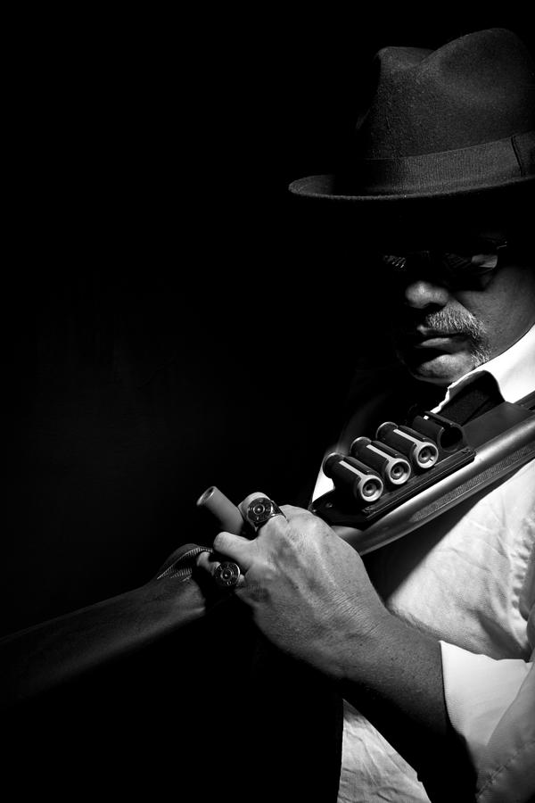 Shotgun Photograph - Make It Count by Monte Arnold