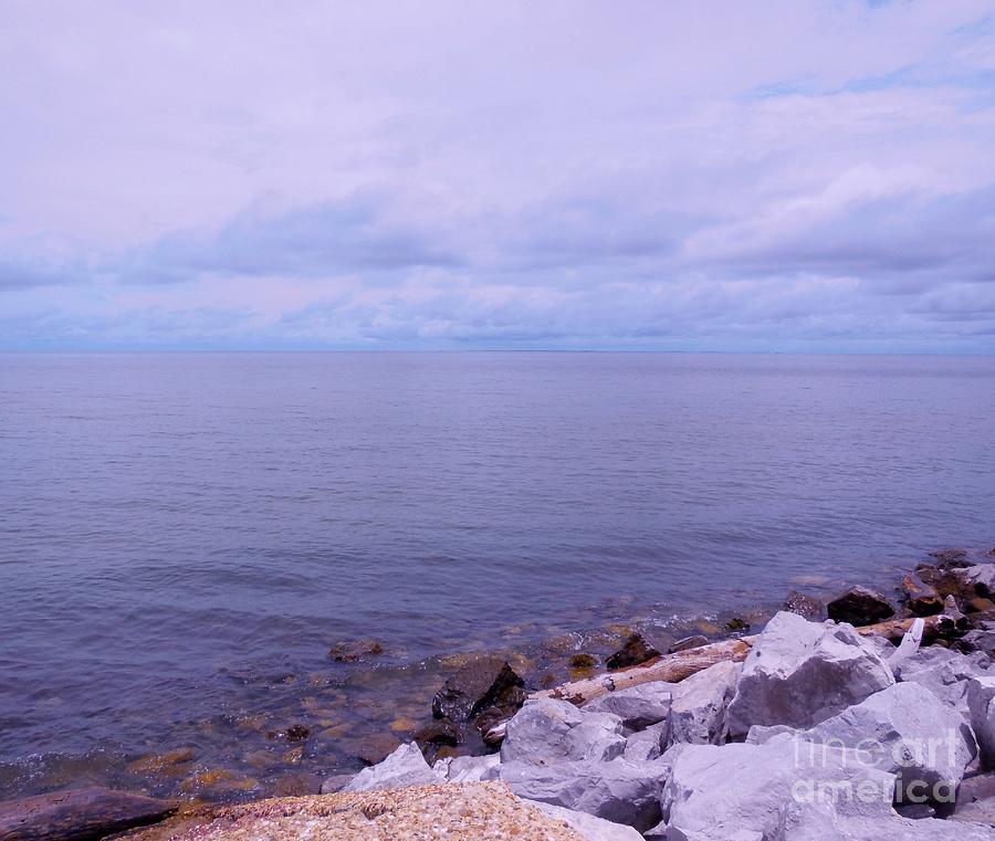 Ocean Photograph - Make Mine On The Rocks by Eloise Schneider
